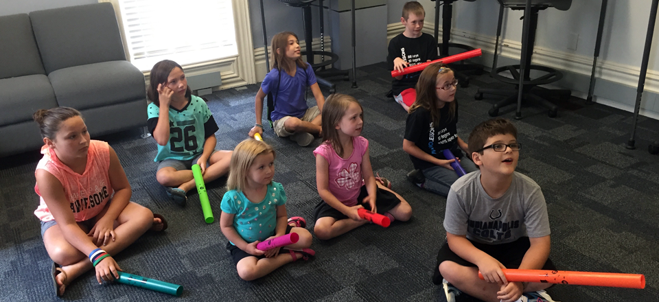 Boomwhacker Chorale